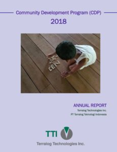 2018 Terralog Community Development Report